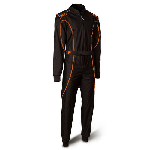 SPEED Barcelona RS-1  CIK FIA LEVEL2 N2013-1 schwarz neonorange Overall Kartoverall Gr.140- XXL